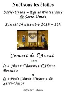 Concert du samedi 14 décembre 2019 à Sarre-Union 1