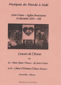 Affiche concert du 14 décembre 2019 1