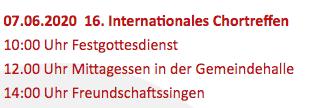 Invitation à EGGINGEN en Allemagne le 7 juin 2020 3